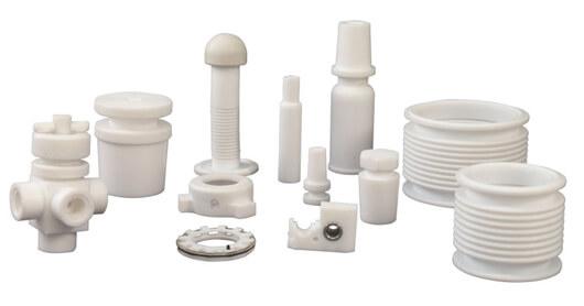 Plastic/PTFE components